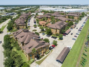 Three Bedroom Apartments for Rent in Northwest Houston, TX -Aerial View of Community & Surrounding Area